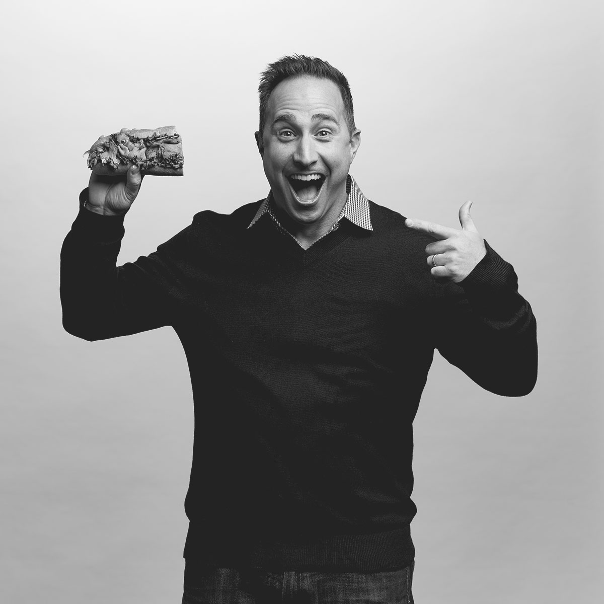 Matt Diefenbach loves Roast Beef sandwiches