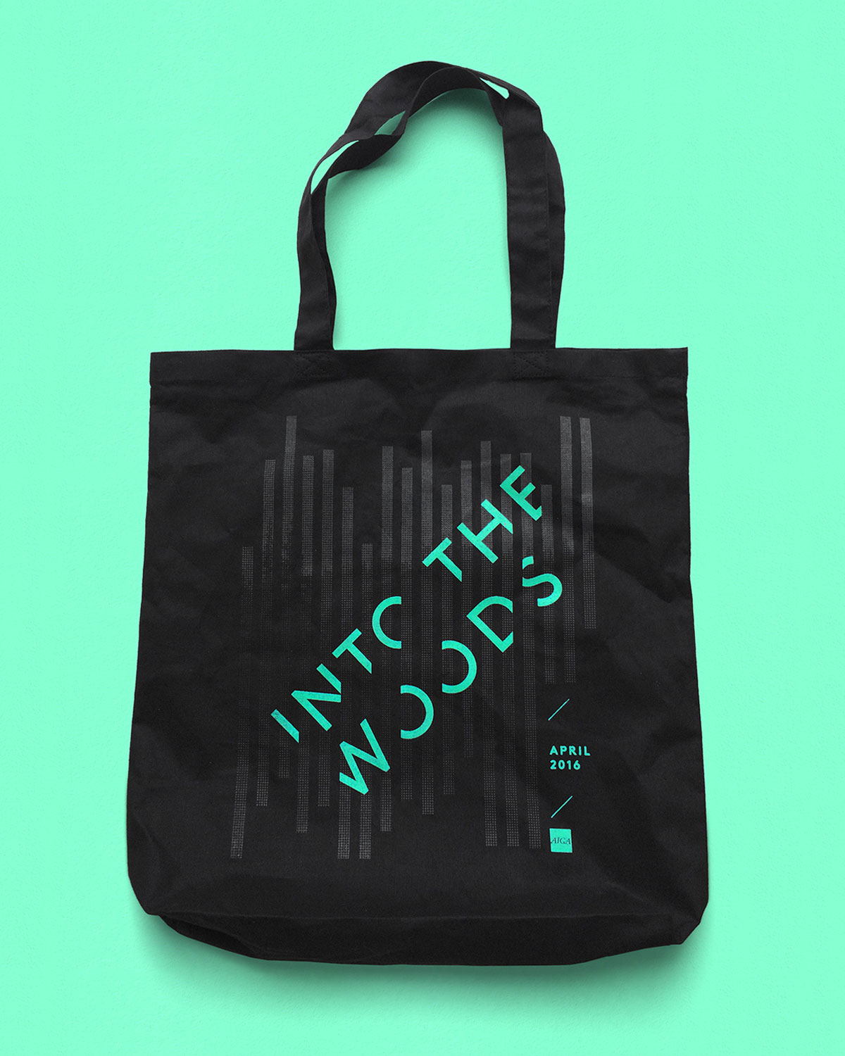AIGIA Into the Woods tote bag