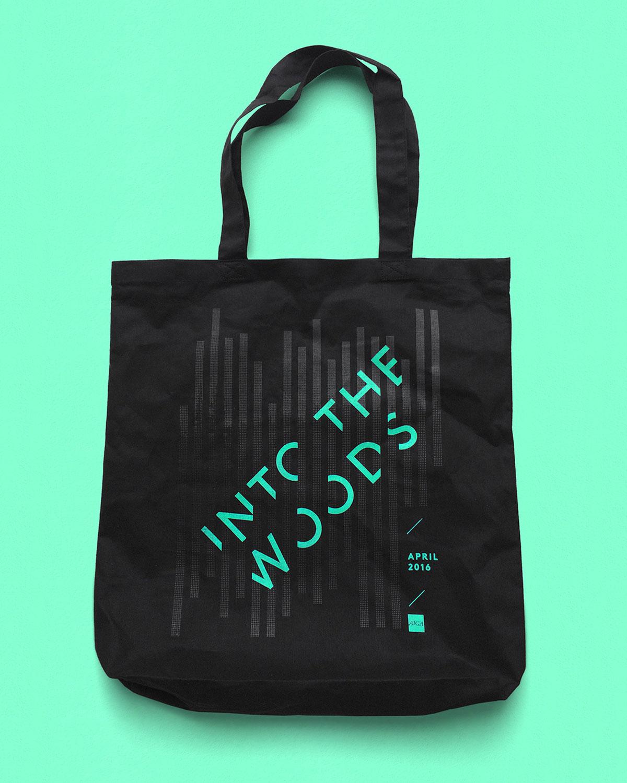 AIGIA Into the Woods tote bag
