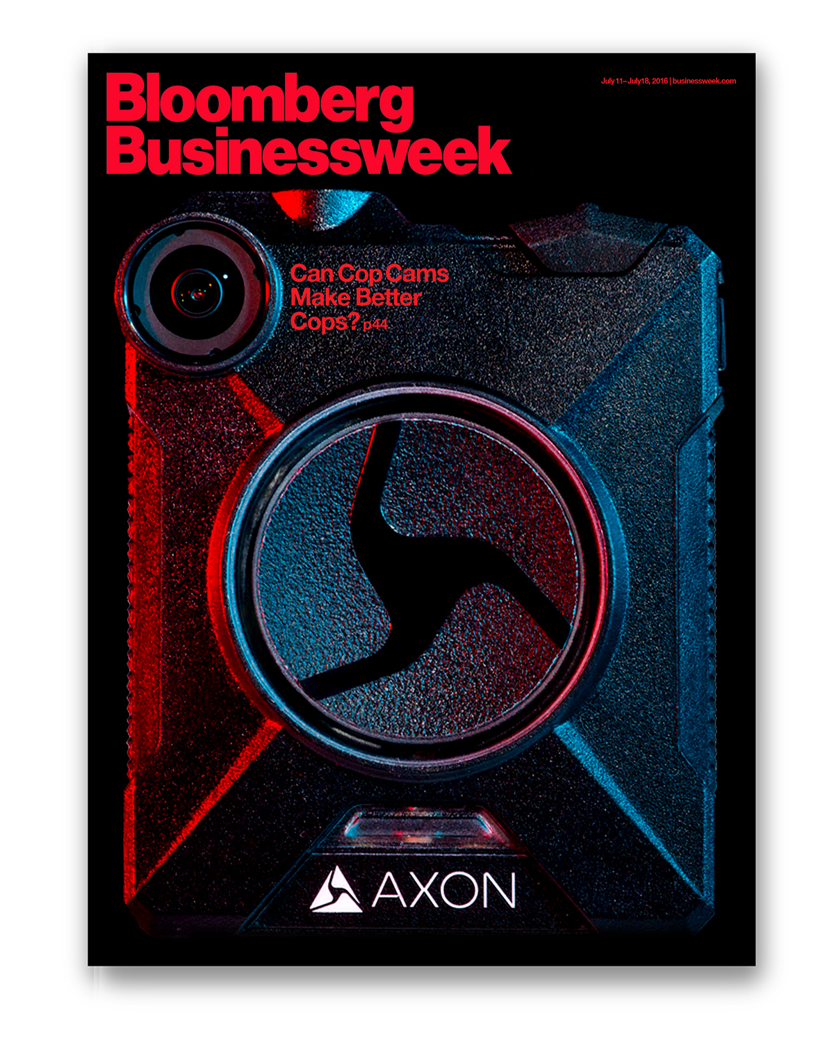 Axon's Cover of Bloomberg Businessweek magazine