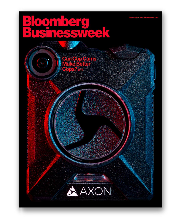Axon's Cover of Bloomberg Businessweek magazine